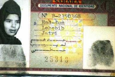 Carnet de identidad español en el Sahara Occidental